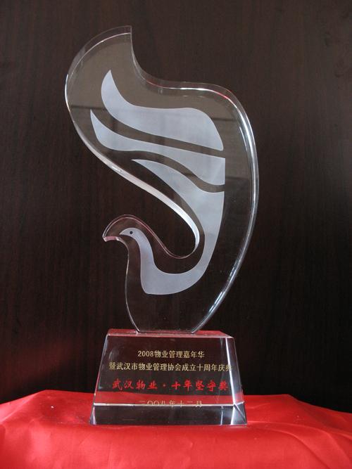 """武汉物业""""十年坚守奖"""""""